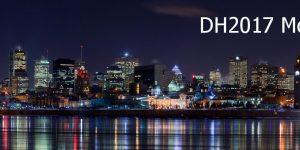 DH2017 Montréal